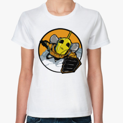 Классическая футболка Ракетчик