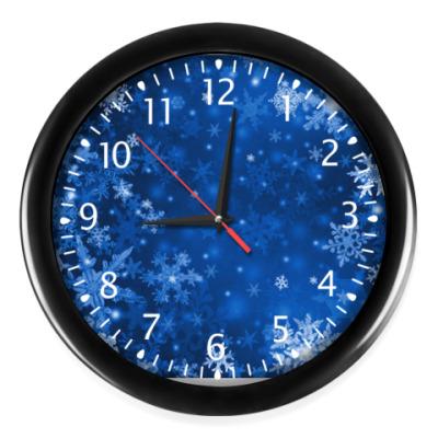 Часы Снежная ночь
