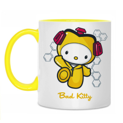 Кружка Bad Kitty