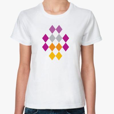 Классическая футболка Ромбы
