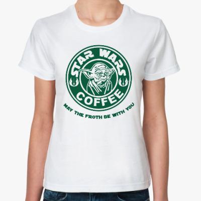 Классическая футболка Мастер Йода