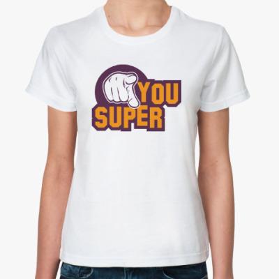 Классическая футболка U Super