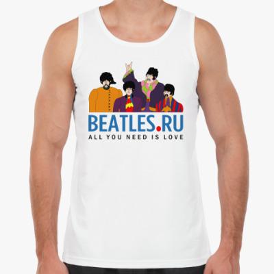 Майка  майка Beatles.ru