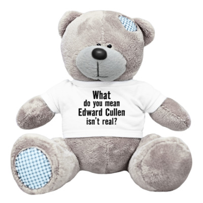 Плюшевый мишка Тедди 'Эдвард Каллен существует?'