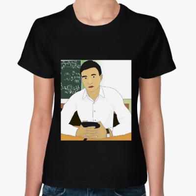 Женская футболка Казахский мужчина