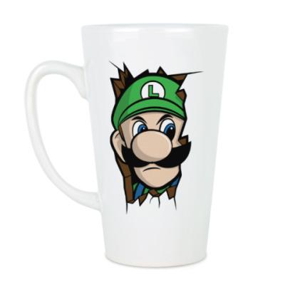 Чашка Латте Луиджи Марио