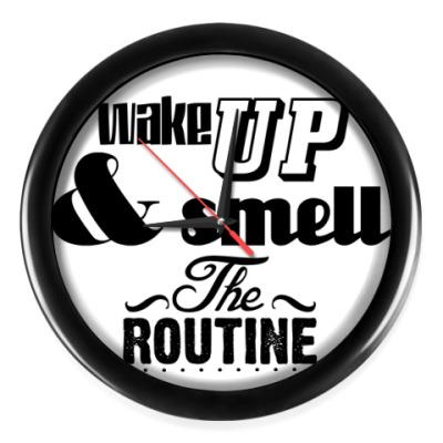 Настенные часы 'Wake up'