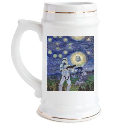 Пивная кружка Star Wars Starry Night