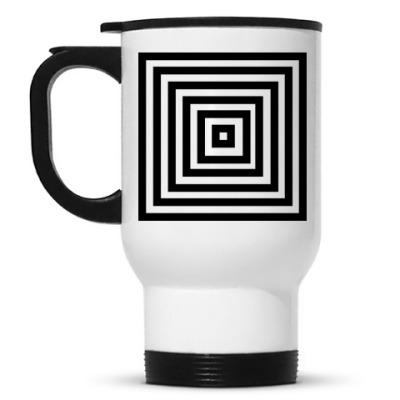 Кружка-термос 'Geometria'
