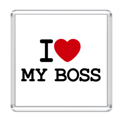 Магнит I Love My Boss