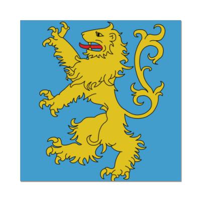 Наклейка (стикер) Флаг квартиры Шелдона