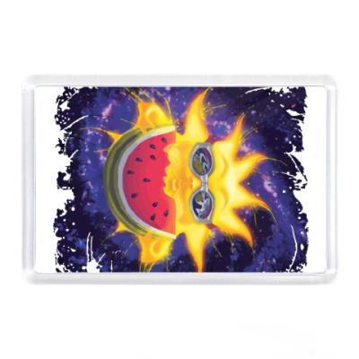Магнит Солнечный арбуз