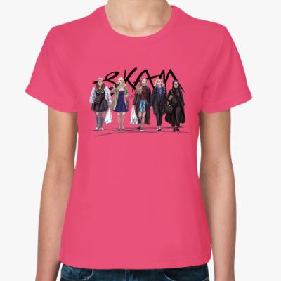 Женская футболка Who run the world? Girls! SKAM