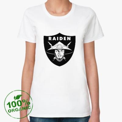Женская футболка из органик-хлопка Raiden Raiders