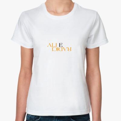 Классическая футболка  Ali E Radici