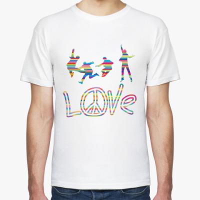 Футболка Beatles Love