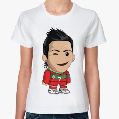 Классическая футболка Криштиану Роналду