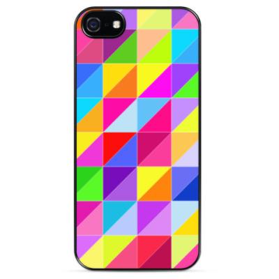 Чехол для iPhone Triangle Color