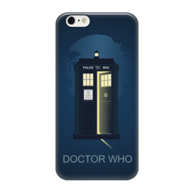 Чехол для iPhone 6/6s Doctor Who