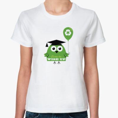 Классическая футболка ECO line