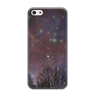 Чехол для iPhone 5/5s Ночное небо