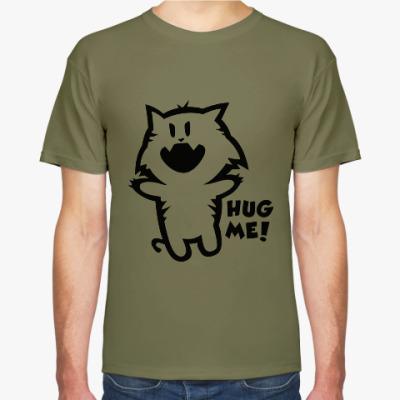Футболка Hug me
