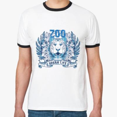 Футболка Ringer-T Zoo Urban life