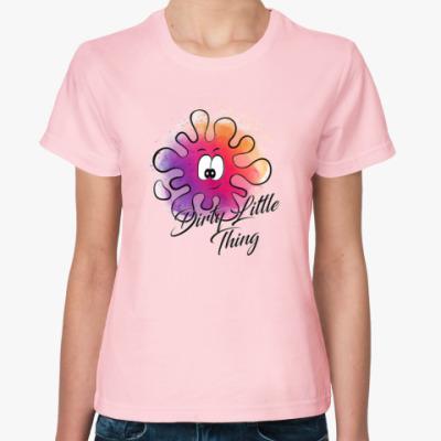 Женская футболка Грязная штучка