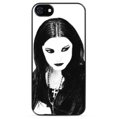 Чехол для iPhone Gothic Girl