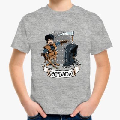 Детская футболка Смерть - не сегодня