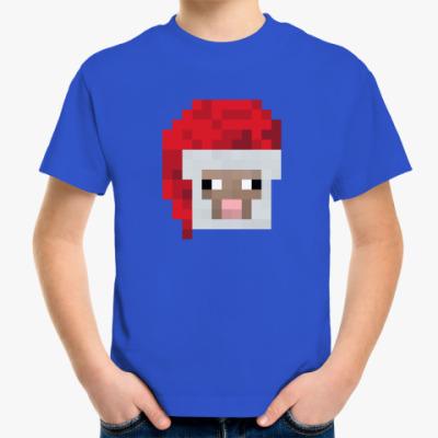 Детская футболка Знаменитая овечка из Minecraft