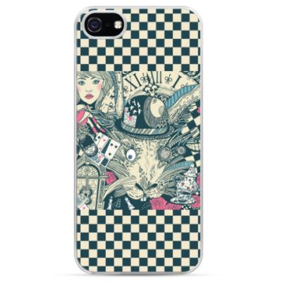 Чехол для iPhone Алиса в стране чудес