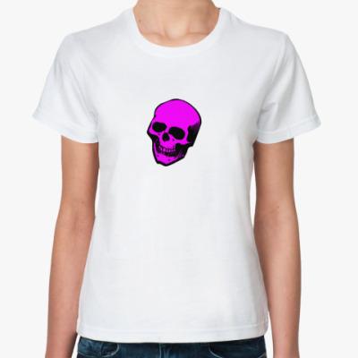 Классическая футболка череп
