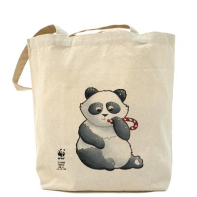 Сумка WWF. Панда с карамелькой