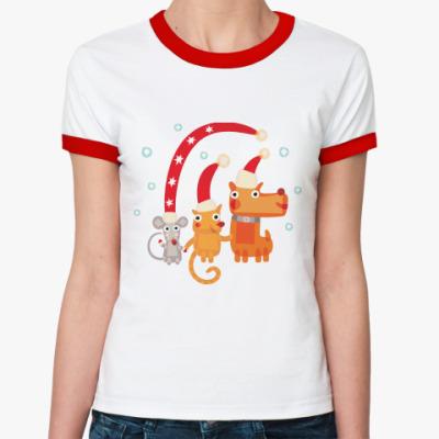 Женская футболка Ringer-T Символ года