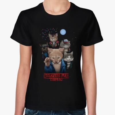 Женская футболка Stranger Things