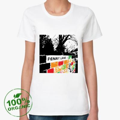 Женская футболка из органик-хлопка Penny Lane