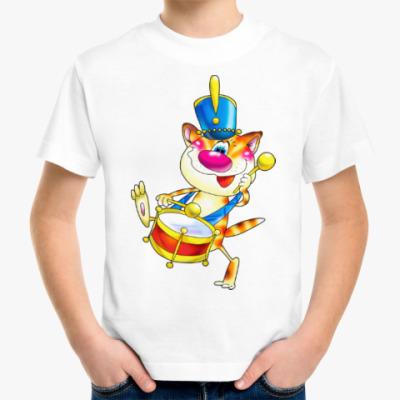 Детская футболка КОТ ГУСАР