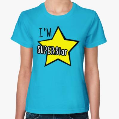 Женская футболка I'm Superstar