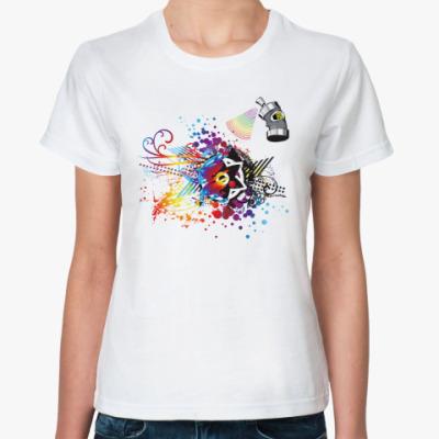 Классическая футболка Абстрактный рисунок