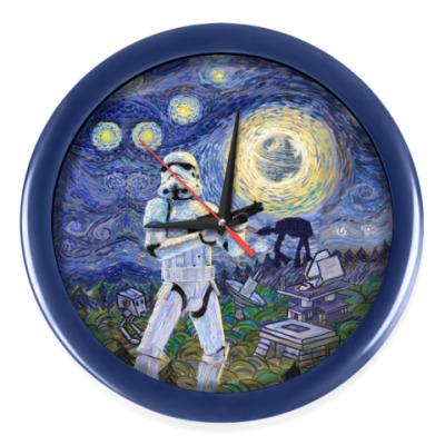 Настенные часы Star Wars Starry Night