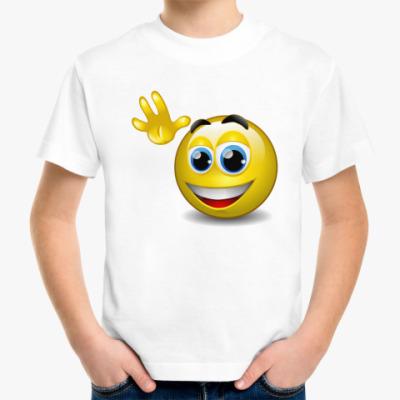 Детская футболка Смайл