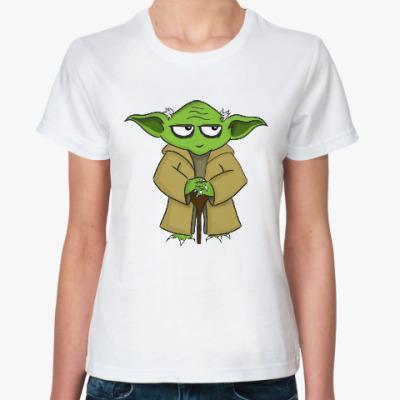 Классическая футболка Йода (Звёздные войны)