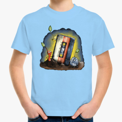 Детская футболка Кассета - стражи галактики