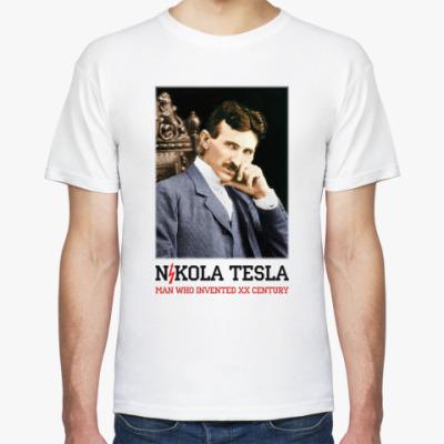 Футболка Никола Тесла 2