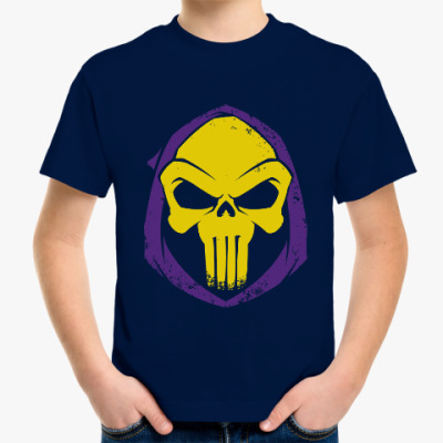 Детская футболка Скелетор