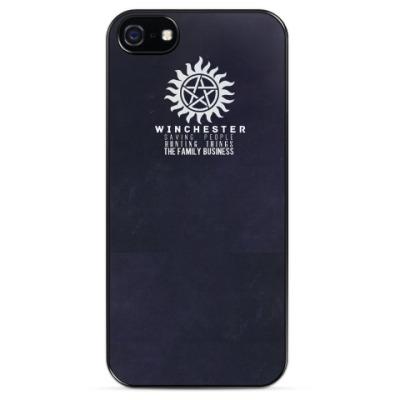 Чехол для iPhone Supernatural