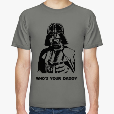 Футболка Darth Vader daddy