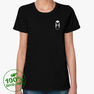 Женская футболка из органик-хлопка Женская футболка Stella Likes из органик-хлопка, черная