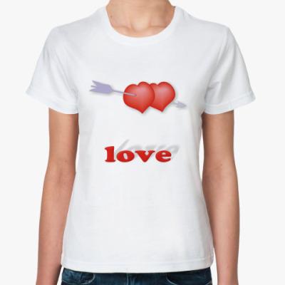 Классическая футболка Дуплет